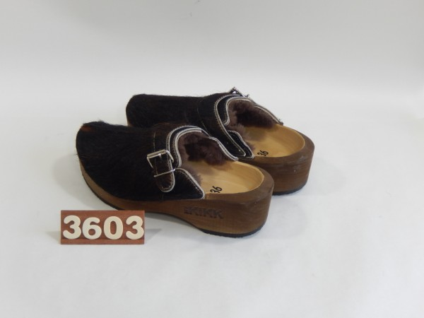 Wooden Clogs Size 36