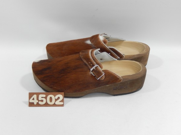 Wooden clogs Size 45
